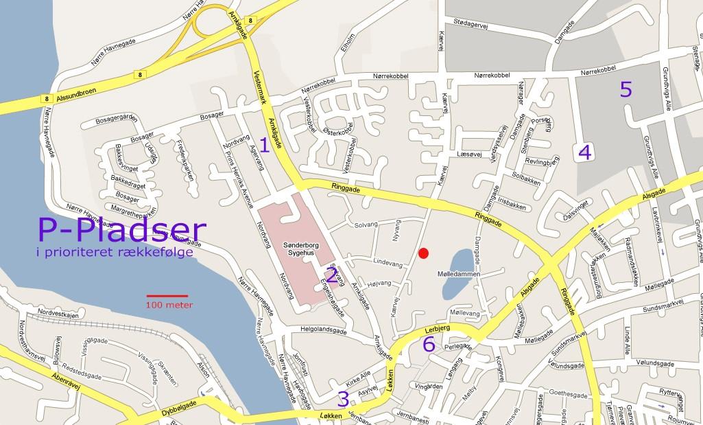 Kort Over Sønderborg Centrum   stoffeerderijrozendal